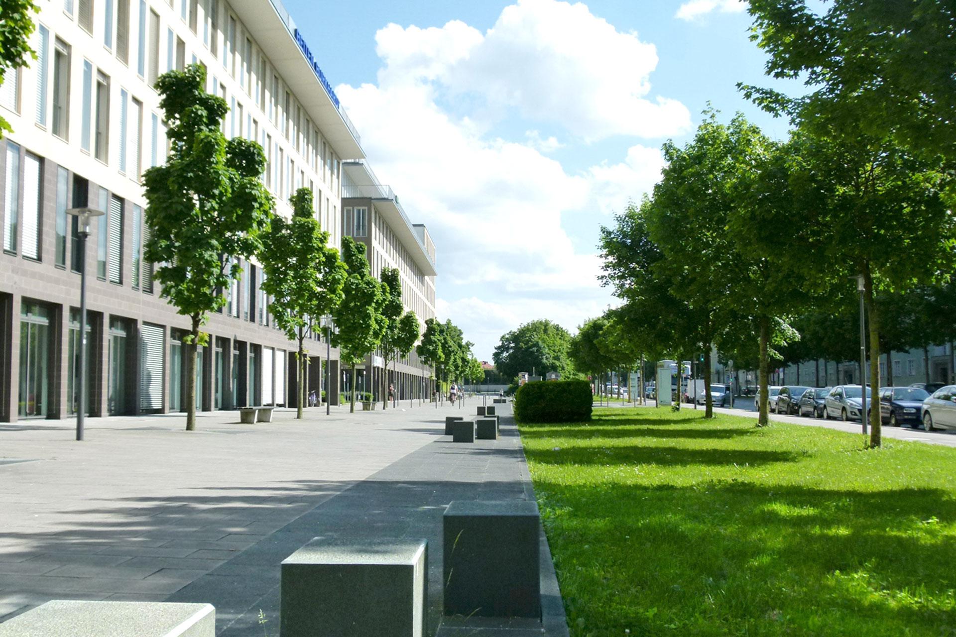 Landschaftsarchitektur München theresienhöhe münchen tdb landschaftsarchitektur